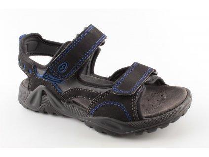 Chlapecká letní obuv I2097.61 (Barva černá, Velikost 40)