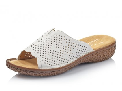 Dámská obuv letní Rieker DL V6995-80 (Barva Bílá, Velikost 41)