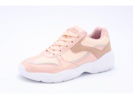 Dámské boty Obutex SD FG1979-3 (Barva růžová, Velikost 41)