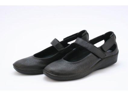 Dámské boty AGB DC 4053 L51 ŠIROKÉ, haluxy (Barva černá, Velikost 42)