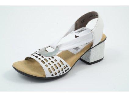 Dámské boty Rieker DL 64675-80 (Barva Bílá, Velikost 41)