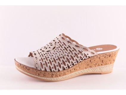 Dámské boty Rieker - Remonte DL D4752-80 (Barva béžová, Velikost 41)
