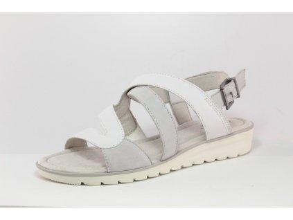 Dámská obuv letní Jana DL 8-28650/24 bílé HALUXY (Barva Bílá, Velikost 42)