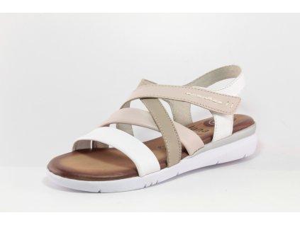 Dámské boty letní Jana DL 8-28205/24 (Barva Bílá, Velikost 42)