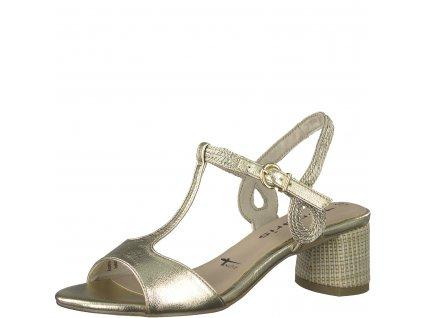 Dámské boty Tamaris DL 1-28219/24 (Barva zlatá, Velikost 41)