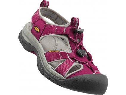 Dámská obuv Keen VENICE BEET RED / NEUTRAL GREY (Barva růžová, Velikost 42)