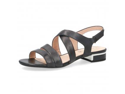 Dámské sandály Caprice DL 9-28100/24 (Barva černá, Velikost 42)