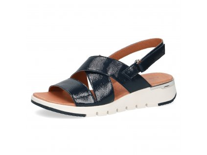 Dámské sandály Caprice DL 9-28700/24 (Barva Modrá, Velikost 42)