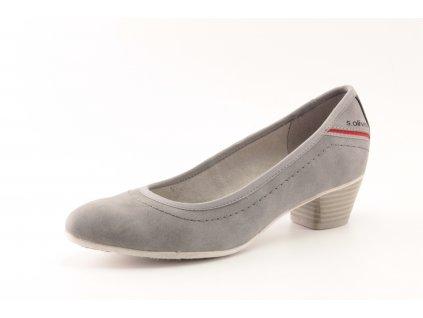 Dámské boty s.Oliver DC 5-22301/34 šedé (Barva šedá, Velikost 41)