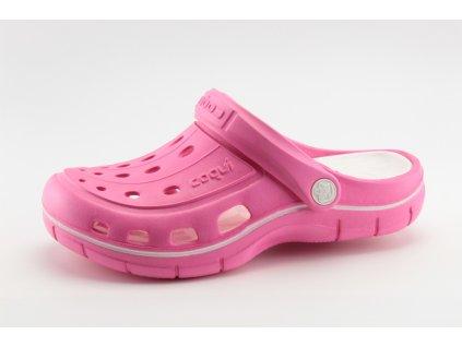 Dámské kroksy COQUI DO 6352/24 růžové (Barva růžová, Velikost 42)