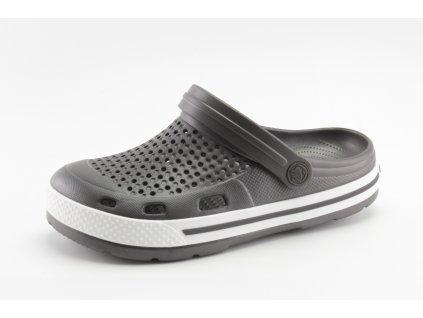 Chlapecké kroksy COQUI DO 6413/20 šedé (Barva šedá, Velikost 42)