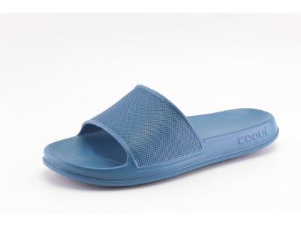 Chlapecké nazouváky COQUI DO 7082/90 modré (Barva Modrá, Velikost 41)