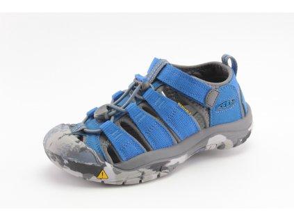 Dětské boty Keen AL NEWPORT SKY modré vel. 29-39 (Barva Modrá, Velikost 39)