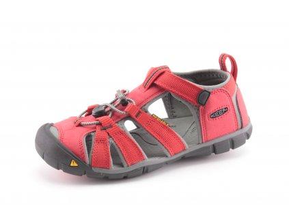Dětské boty Keen AL CNX RACING RED červené vel. 29-39 (Barva červená, Velikost 39)