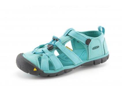 Dětské boty Keen AL CNX BALTIC tyrkysové vel. 36-39 (Barva světle modrá, Velikost 39)