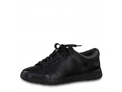 Dámské boty Jana DC 8-23750/25 kožené (Barva černá, Velikost 42)