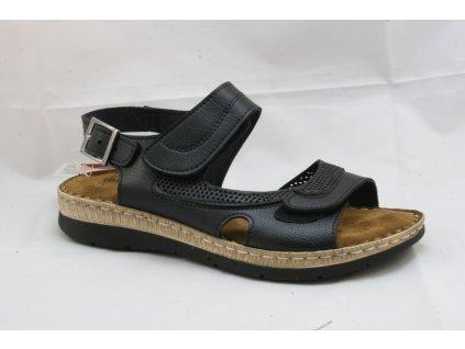 Dámské sandály EFFE TREE E102-120 (Barva černá, Velikost 37)