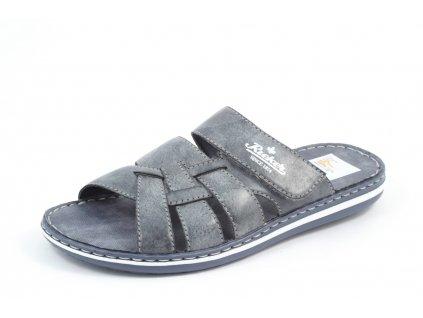 Pánské letní boty Rieker PL 21073-14 (Barva Modrá, Velikost 45)