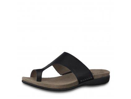Dámské boty Jana DL 8-27150/24 kožené AKCE (Barva černá, Velikost 41)
