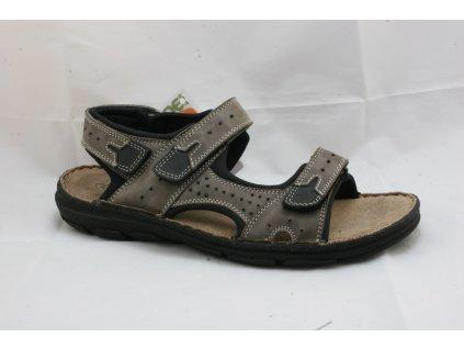 Pánské sandály EFFE TREE 5014-360 (Barva hnědá, Velikost 46)