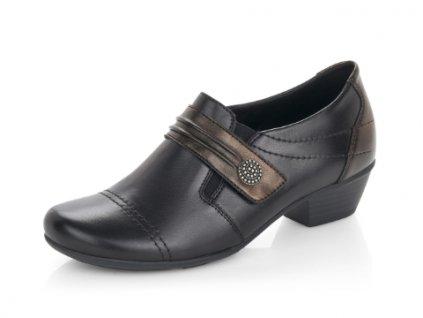 Dámské boty Rieker Remonte DC D7300-01B (Barva černá, Velikost 41)