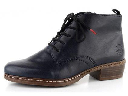 Dámské boty Rieker DC Y0843-14 temně modré (Barva Modrá, Velikost 42)