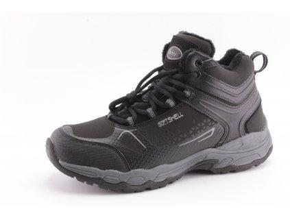 Pánské boty zimní Obutex PZ A420017W (Barva černá, Velikost 46)