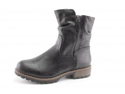 Dámské zimní boty Jana DZ 8-25476/25 šíře H (Barva černá, Velikost 42)