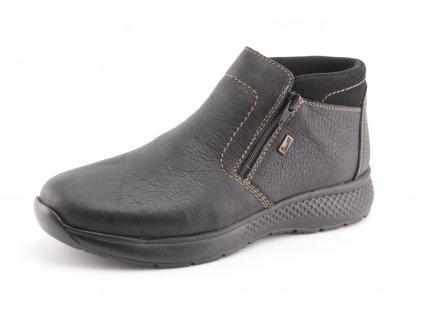 Pánské boty zimní Rieker PZ B7692-00 (Barva černá, Velikost 46)