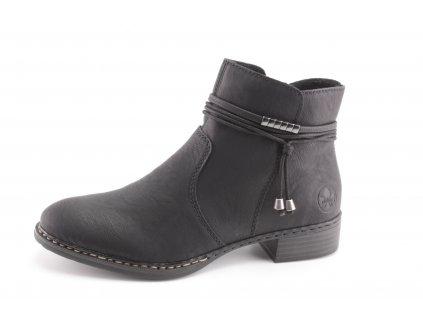 Dámské boty Rieker DC 73488-00 (Barva černá, Velikost 42)
