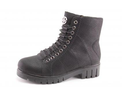 Dámské zimní boty Rieker DZ X2620 -00 (Barva černá, Velikost 42)