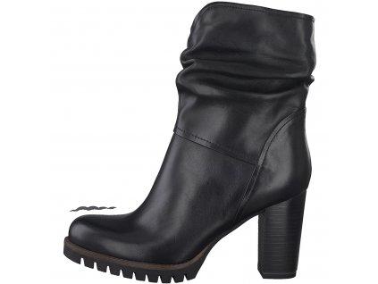 Dámské boty zimní Marco Tozzi DZ 2-25436/25 kožené TOP model (Barva černá, Velikost 41)