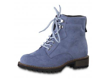 Dámské boty Jana DZ 8-25266/25 šíře H SKVĚLÁ CENA (Barva Modrá, Velikost 41)