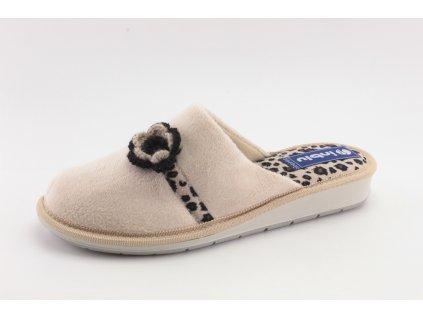 Dámské pantofle Inblu DD LB81/20 (Barva béžová, Velikost 41)