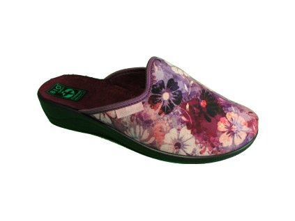 Dámské pantofle Adanex DD 25823 kytička (Barva kytička, Velikost 42)