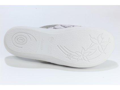 Dámské pantofle Adanex DD 25576 - CENOVÁ BOMBA! (Barva šedá, Velikost 41)
