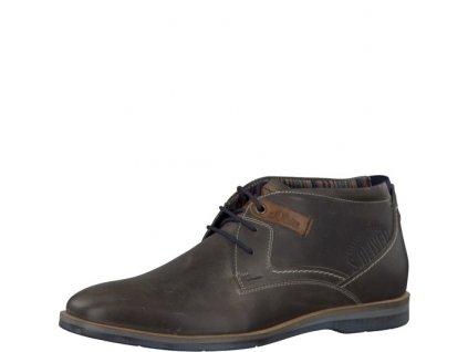 s.Oliver Pohodlná kotníčková obuv PC 5-15100/35 (Barva šedá, Velikost 46)