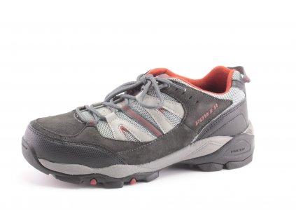 Dámské a dětské sportovní boty Power POW619L (Barva šedá, Velikost 37)