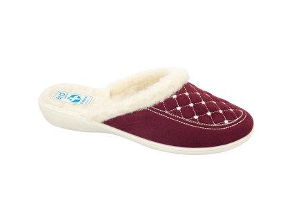 Dámské pantofle Adanex 19379 (Barva červená, Velikost 38)