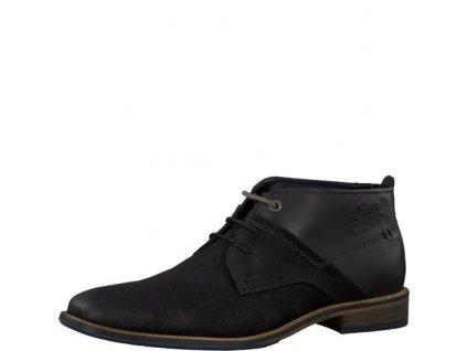 Pánská kotníčková obuv S. OLIVER 5-15103/27 (Barva černá, Velikost 46)