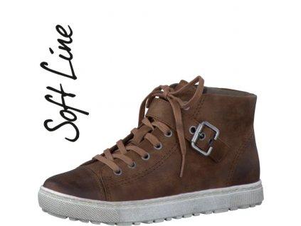 Dámská zimní obuv JANA 8-25262/27 (Barva béžová, Velikost 42)