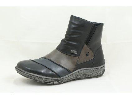 Damská obuv Rieker D3884-02 (Barva černá, Velikost 43)