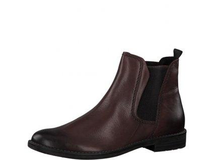 Dámské boty Marco Tozzi 2-25366/33 bordó (Barva červená, Velikost 41)