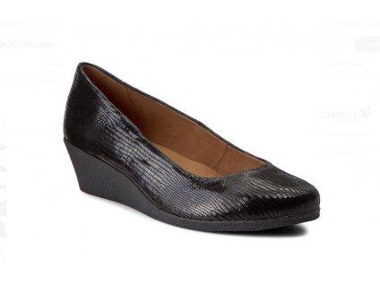 Dámské lodičky CAPRICE 9-22318/29 KŮŽE (Barva černá, Velikost 40)