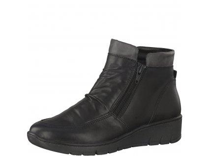 Dámská obuv kožená Jana 8-25405/29 (Barva černá, Velikost 42)