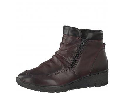 Dámská obuv Jana 8-25405/29 červená (Barva červená, Velikost 39)