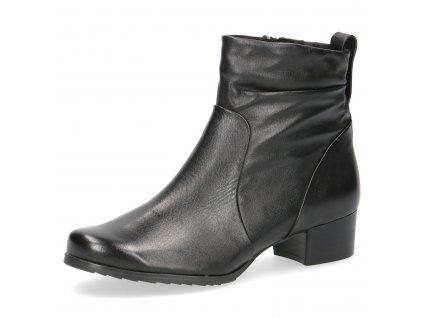 Dámské zimní boty Caprice 9-25321/25 kožené šíře H