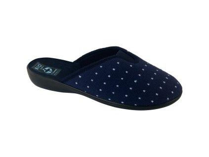 Dámské pantofle Adanex 22373 (Barva Modrá, Velikost 36)