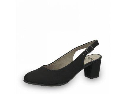 Dámská obuv s volnou patou Jana DC 8-29460/26 černá