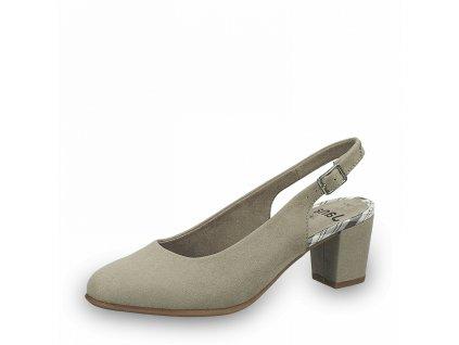 Dámská obuv s volnou patou Jana DC 8-29460/26 béžová